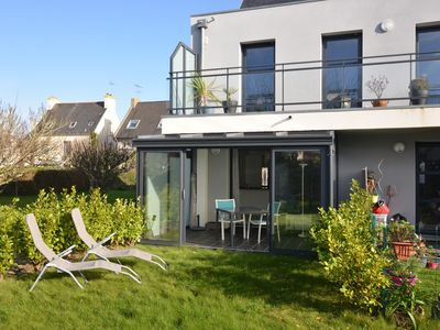 Photo for New apartment on the ground floor with garden, quiet in Le Conquet