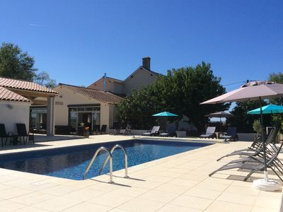 Photo for New 2018 beautifully renovated house, heated pool, Vendee, Deux Sevre border