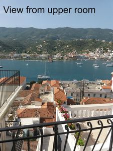 Photo for Traditional mansion near the Poros clock tower,with amazing view