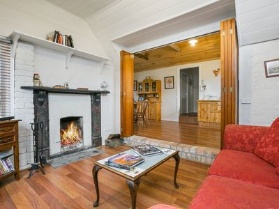 Photo for The Tea House Cottage. Open fire cosiness on the Taradale Estate Grounds