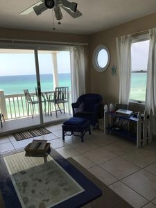 Photo for Gulf Front/west end unit panoramic views/sunsets from unit!! November openings!!