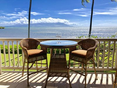 Relax on the Lanai with Maui View