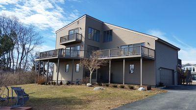 Photo for Stunning 6 bedroom contemporary with a georgous view of Block Island Sound