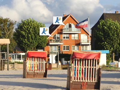 Photo for Modern Baltic Sea view apartment with 2 balconies
