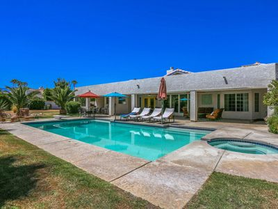 Photo for Huge Pool and Spa on 1 Acre Lot - Great Family Home