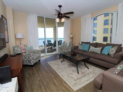 Photo for Beach Colony East 7D- Beach Front unit with large terrace & amazing views!