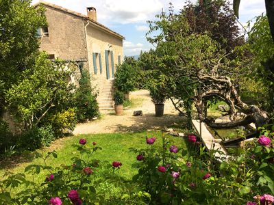 Photo for Charming silk in an idyllic 1 km from the village of Bonnieux