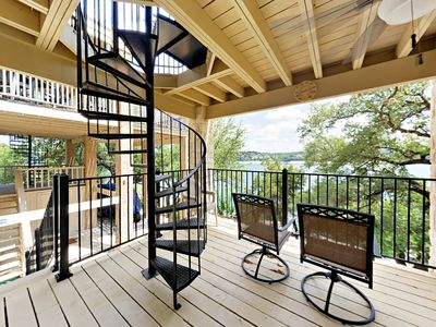 Photo for Lake Travis 3BR w/ Game Room, Private Dock & Sweeping Views at Point Venture