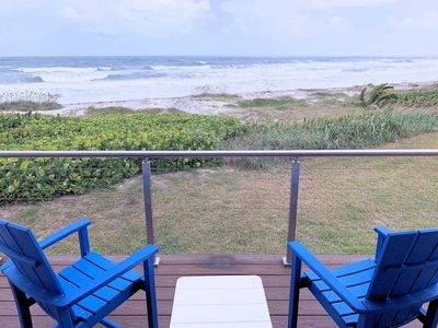 Photo for Oceanfront Luxurious Townhome steps to beach