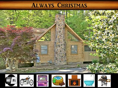 Photo for Always Christmas (at Bear Creek) - Convenient Location / Creek View / Wifi