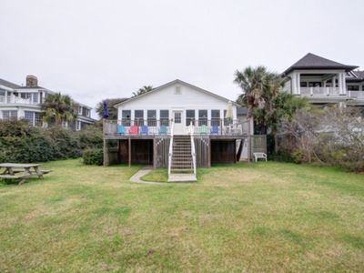 Photo for *RENOVATED 2019!* OCEANFRONT! FRONT BEACH VINTAGE 1940s BEACH COTTAGE!!!