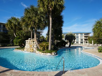 Photo for 30A Gulf Front Seacrest Beach Luxury Condo + 2 Bikes + Community Pool