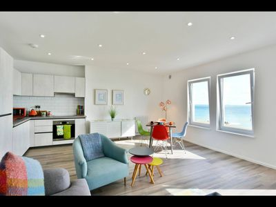 Photo for Seaside Escape on the Kent coast -luxury 2 bedroom apartment with stunning views