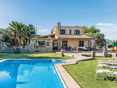 Photo for 4 bedroom Villa, sleeps 8 in es Barcarès with Pool, Air Con and WiFi