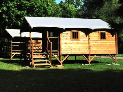 Photo for Camping Sites and Landscapes La Forêt *** - Lodge Lodge 3 Rooms 2/4 People