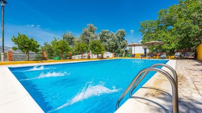 Photo for The Masegal, WIFI, pool, barbecue, tennis court, Andalusian house with charm