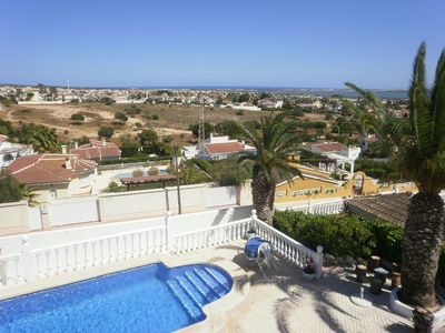 Photo for Traditional Spanish house with swimming pool and near seashore.