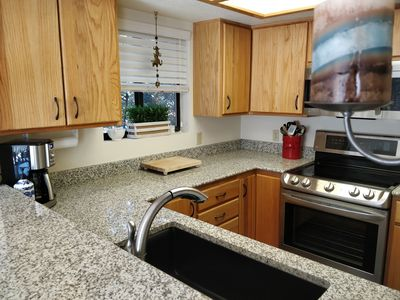 New, open, renovated kitchen