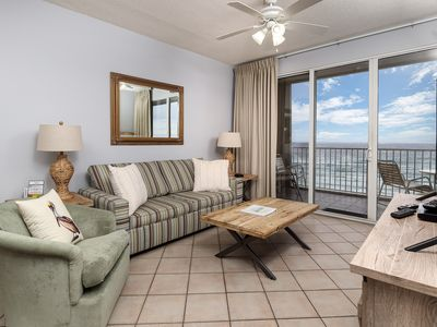 Photo for Gulf Dunes Unit 613 AMAZING DIRECT Gulf Front View!! Spacious 3 bedroom unit