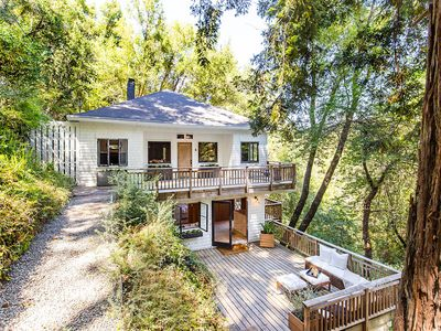 Photo for Serene Mill Valley Gem in the Redwoods