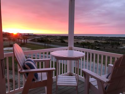 Photo for Beautiful view! 4beds/4bath, Ocean View from porches. Pets: yes