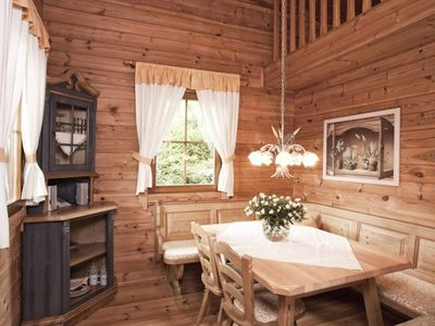 Photo for Chalets with 2 double bedrooms. BATH / WC, terrace - Chalet Hotel am Leitenhof