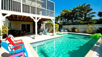 Photo for Sandcastle - Spacious home with amazing private pool - only minutes to beach!