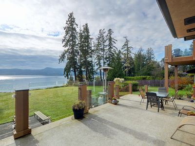 Photo for Private Waterfront House Overlooking the Sooke Basin