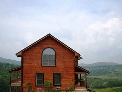 Photo for River Mountain Cabin - Close to Boone, Serene Views, with Hot Tub