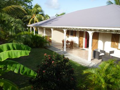"Photo for Rental cottage Guadeloupe in the Residence ""The Helleux"", between Ste Anne and St. Francis and 300 m from the beach of Helleux or Anse Gros sable."