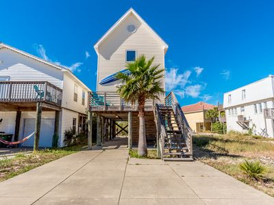 Photo for Lovely Home Steps from the Beach! Private Balcony w/ Grill. Pet Friendly! Booking 2019 Now!