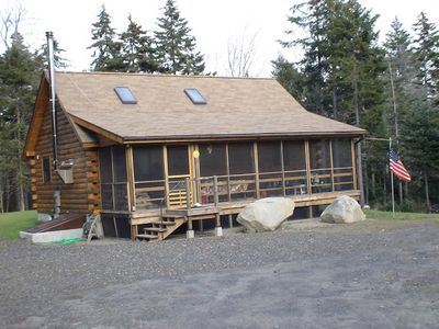 Photo for Hand Crafted Log Cabin