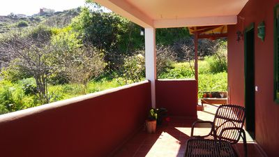 Photo for Nice, quiet Cottage with views of the sea and the mountains, Wifi