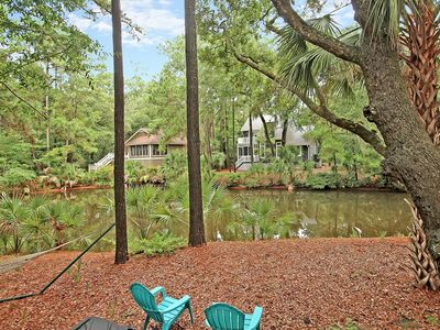 Photo for Spacious 5BR w/ Bikes & Ping-Pong - Overlooking Lagoon on Seabrook Island