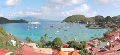 Photo for Les Saintes Terre De Haut: Housing with exceptional view on the bay of Saintes