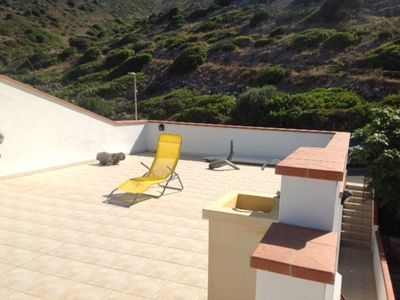Photo for Charming Apartment Casa Rosmarino with Rooftop Terrace & Sea View; Parking Available