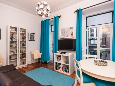 Photo for Carmo Azul apartment in Baixa/Chiado with WiFi.