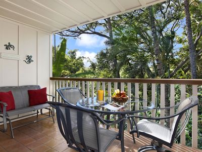 Photo for Waikomo Stream Villas #520: Updated Gem, w/ Rich Garden View! Walk to Shopping