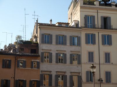 Photo for Gorgeous apartment with view and unique terrace on Campo de Fiori (old Rome)