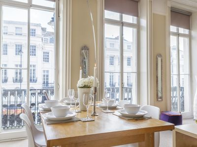 Photo for Portland Place a Beautiful Regency Apartment With Sea Views