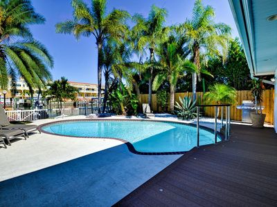 Photo for Bay Breeze House 146 Waterfront home with pool