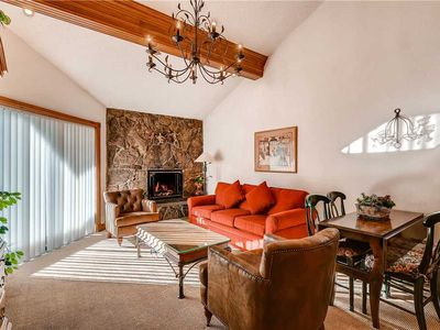 Photo for Top-floor Mountain Views and Vaulted Ceiling in Lionshead Vail | Westwind 406