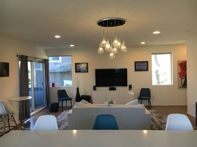 Photo for Modern Townhome with Private Rooftop Patio!