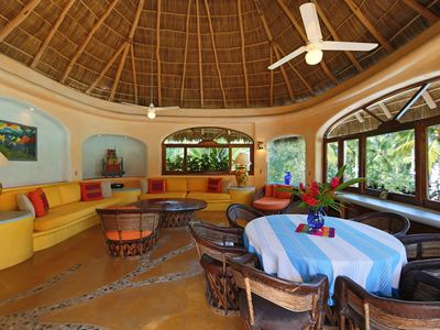 Photo for CASA PAVO REAL 3B/3B at Oceanfront LAS HAMACAS