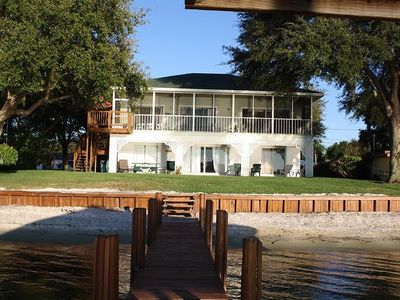 """Photo for Sitting on the Dock of the Lake Clay Rental Home For the perfect """"country"""" vacat"""