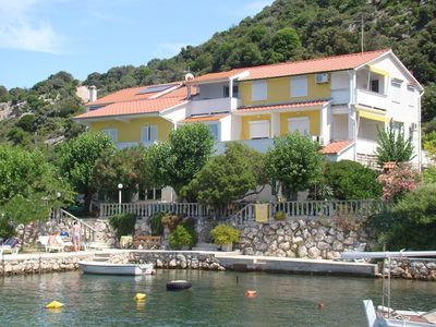 Photo for Apartments and rooms Bruna, (15596), Supetarska Draga, island of Rab, Croatia