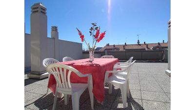 Photo for Beautiful penthouse with large terrace in a great location - Beach place