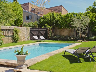 Photo for Village farmhouse with private pool