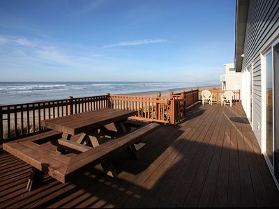 "Photo for Discover the ""Twin Coho"" with Oceanfront views in Rockaway Beach!"