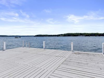 Photo for Breathtaking Views from this Geneva Lakefront Home! - Oak Birch